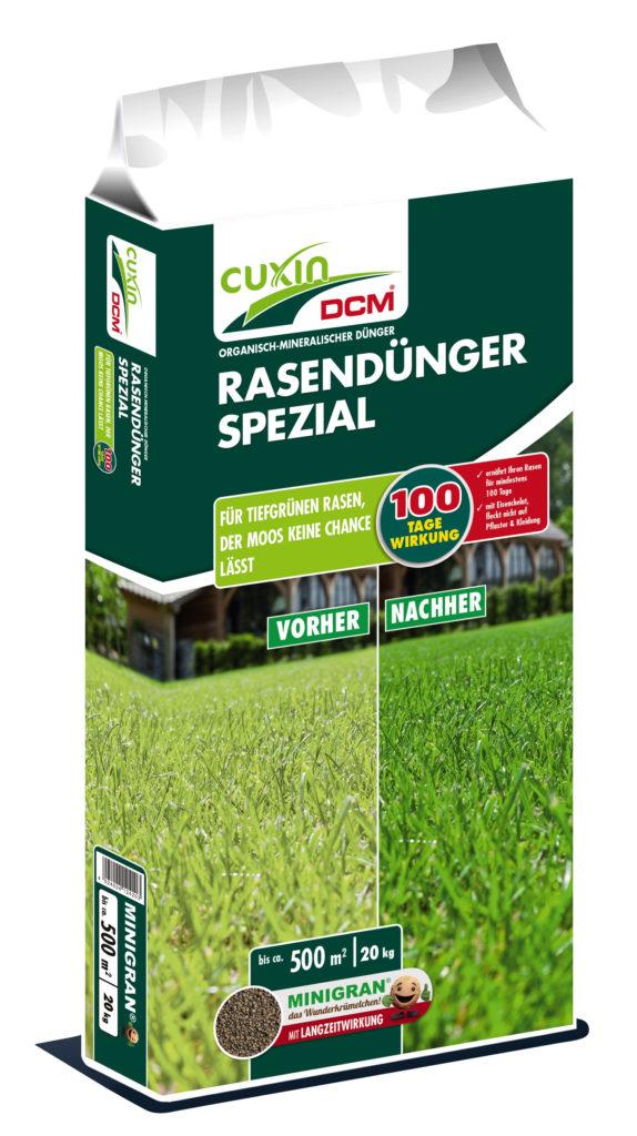 Cuxin Rasendünger Spezial 20 kg für 40.50 Euro